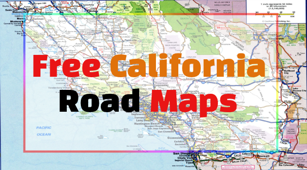 California Road Maps