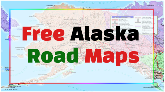 Alaska Road Maps