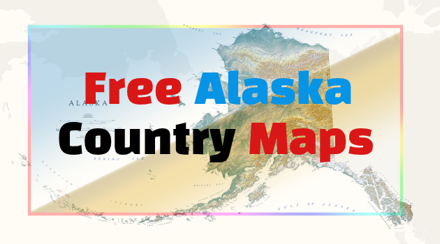 Alaska Country Map