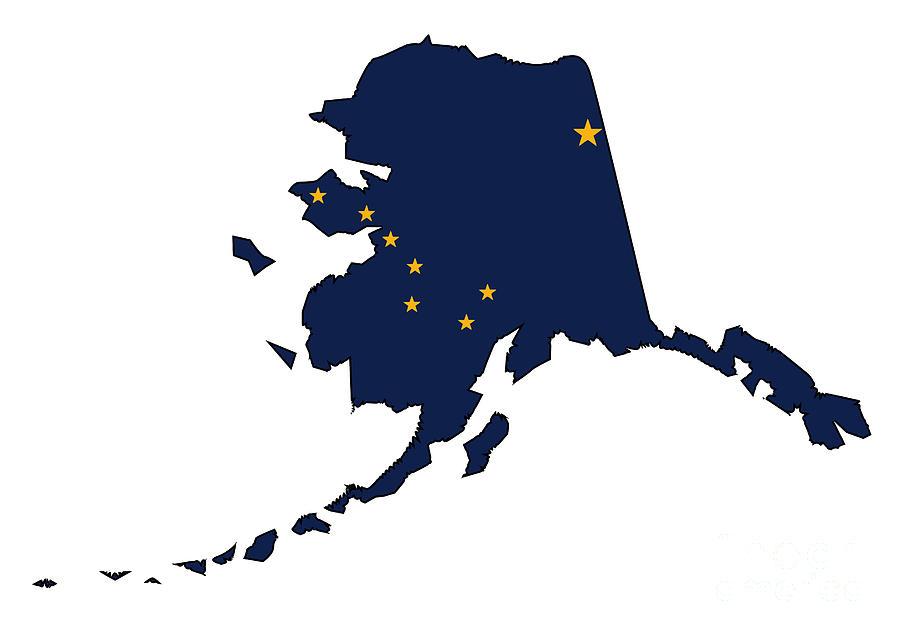 Alaska Flag Maps