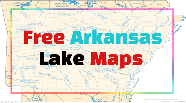 Arkansas Lake Maps