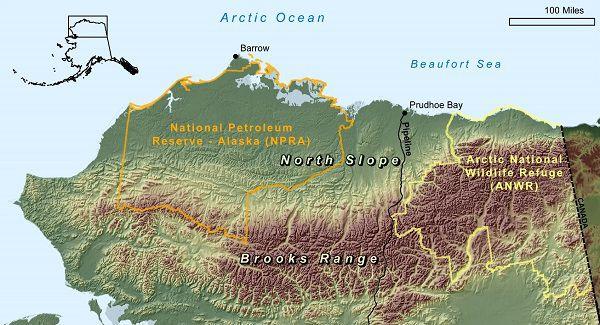 brooks range alaska map