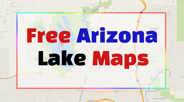 Arizona Lake Maps