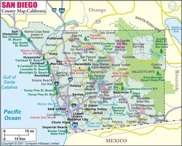 printable map of san diego