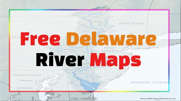 Delaware River maps