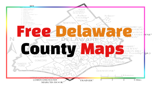 Delaware County Maps