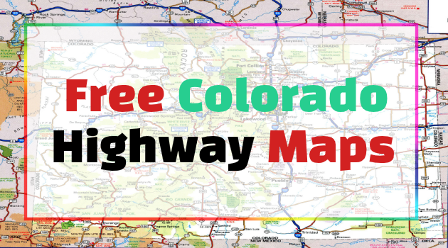 Colorado Highway Maps
