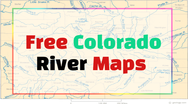colorado river maps