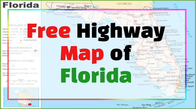 florida highway map