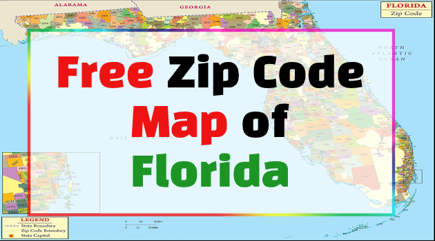 florida zip code map