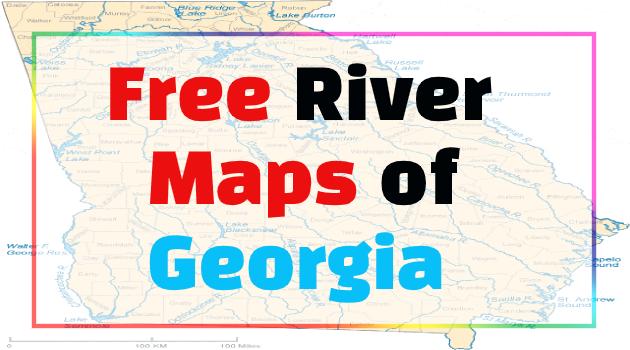 georgia rivers map
