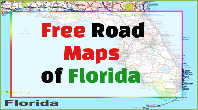 road map of florida