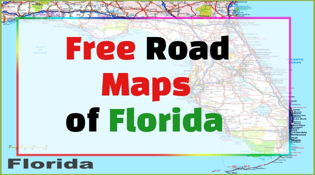 road map of florida