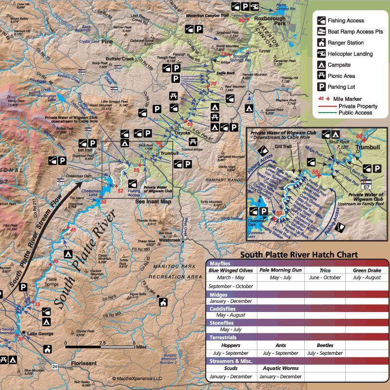 south platte river map